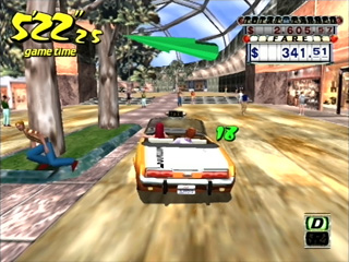 Another Crazy Taxi screenshot