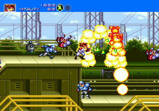Another Gunstar Heroes screenshot